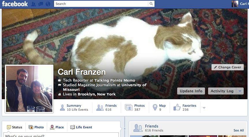 Nowa oś czasu Facebooka?