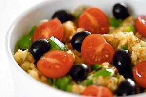 Turecka sałatka z bakłażanów
