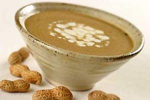 Zupa z Gambii na paście z orzeszków ziemnych