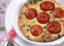 Clafoutis z pomidorkami - ugotuj