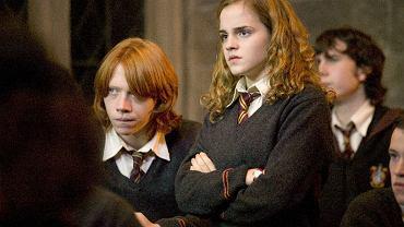 Ron Weasley i Hermiona Granger - najlepsi przyjaciele Harry'ego Pottera
