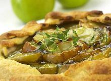 Tymiankowe ciasto z jabłkami - ugotuj