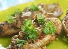 Pierś kurczaka w musztardowej skorupce - ugotuj