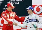 """Kubica stanął na podium w """"świątyni F1"""". To był pamiętny wyścig nie tylko dla niego, ale i Schumachera"""