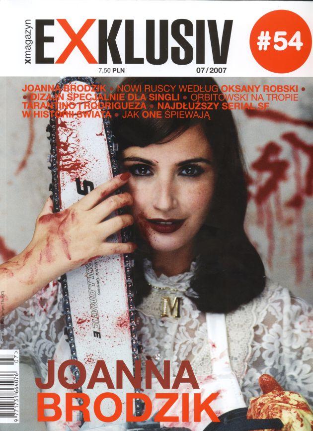 """""""Exklusiv"""" z Joanną Brodzik"""