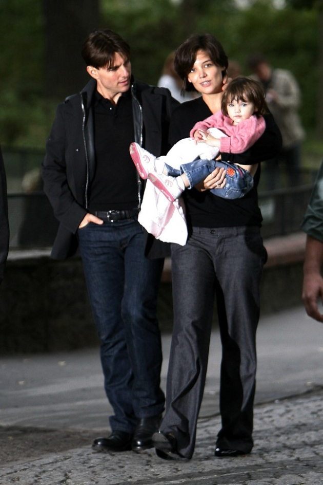 Tom Cruise and Katie Holmes took Suri to the Berlin Zoo. They shared a few intimate moments before the affair turned into a media frenzy/photo opportunity. <P> Picture by: Dean Chapple <br> <B>Ref: DCUK 120807 A <B/> <P> <B>Splash News and Pictures</B><br> Los Angeles:310-821-2666<br> New York:212-619-2666<br> London:207-107-2666<br> photodesk@splashnews.com<br> www.splashnews.com
