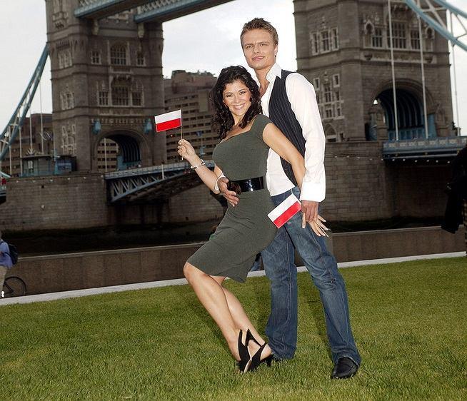 Kasia Cichopek i Marcin Hakiel na tanecznej Eurowizji 2007
