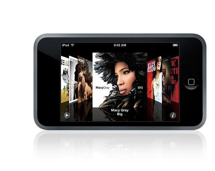 iPod touch - jeden z najlepiej wyposażonych odtwarzaczy MP3 na rynku. Poza świetnym, czytelnym ekranem dotykowym, może pochwalić się m.in. obsługą WiFi i doskonałą przeglądarką WWW. Niestety, kosztuje sporo.
