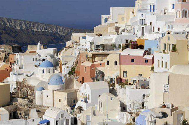Oia - najbardziej eleganckie miasteczko na Santorini
