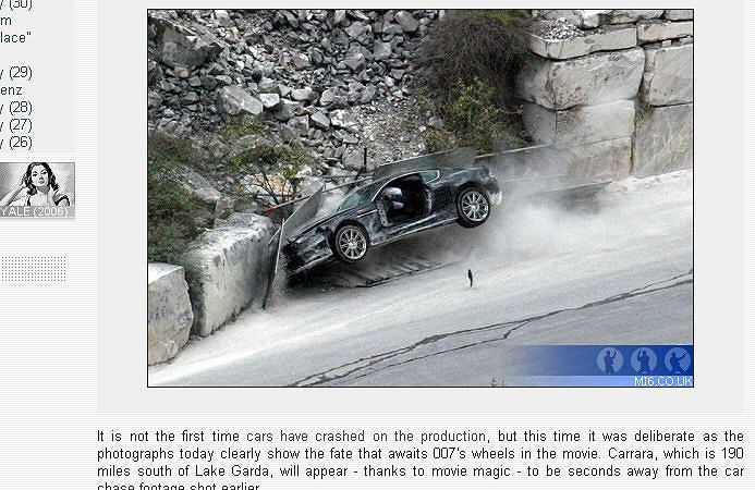 Kolejny Aston Martin Jamesa Bonda idzie na żyletki