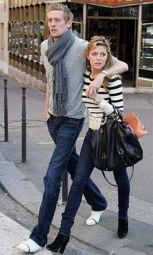 Abbey Clancy Peter Crouch fot. AP