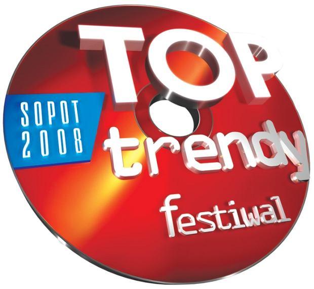 logo festiwalu Top Trendy 2008