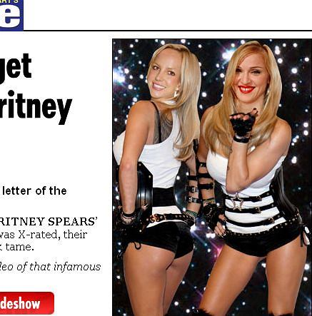 Madonna i Britney Spears.The Sun