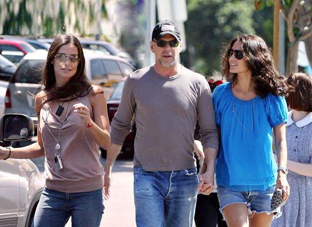 Bruce Willis, Demi Moore/East News