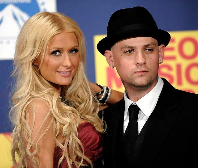 Paris Hilton i Benji Madden na gali MTV Video Music Awards 2008