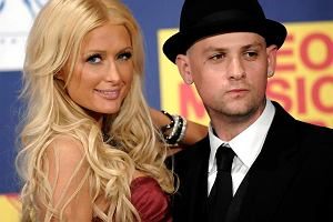 Paris Hilton i Benji Madden na gali MTV Video Music Awards 2008