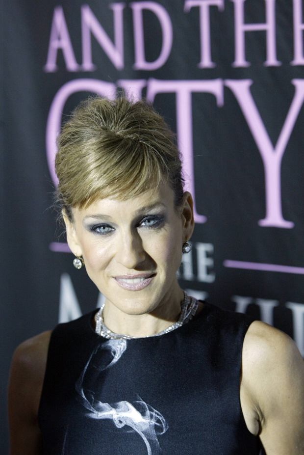 Actress Sarah Jessica Parker arrives for the DVD launch event for Sex and the City: The Movie - Extended Cut, in New York City Thursday Sept. 18, 2008. (AP Photo/David Goldman)