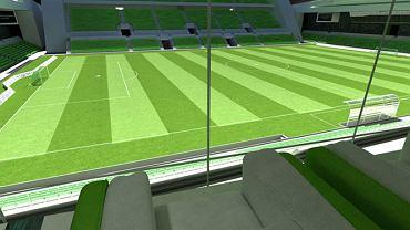 Podziemny stadion w Katarze
