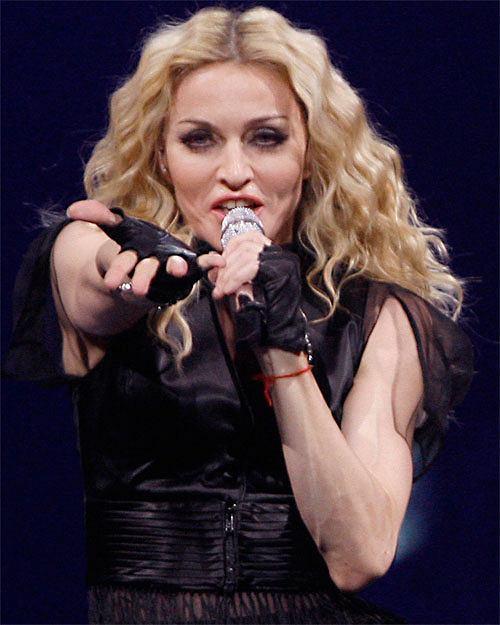 Madonna ostatnio lubi regularne loki