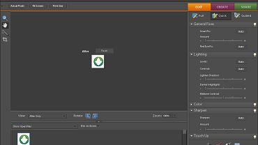 Adobe Photoshop Elements 7 - szybka edycja fotografii umożliwia poprawienie zdjęcia w ciągu kilku sekund.