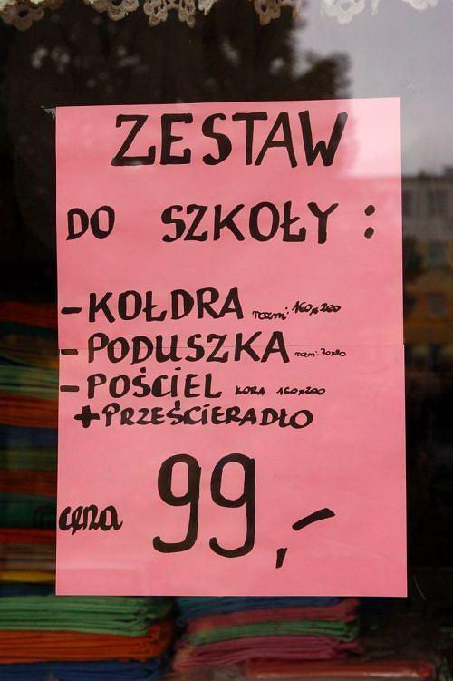 Śmieszny zestaw do szkoły z Węgorzewa (fot. Krzysiek)