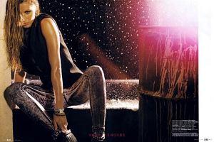 W najnowszym numerze magazynu Elle możemy zobaczyć świetną sesję Gisele Bundchen - topowej modelki. Zdjęcia są bardzo oryginalne. Scenografia była nieco kosmiczna, a stroje Gisele bardzo modne. Sesja wygląda nieco jak reklama perfum, ale i tak bardzo nam się podoba. A wam?