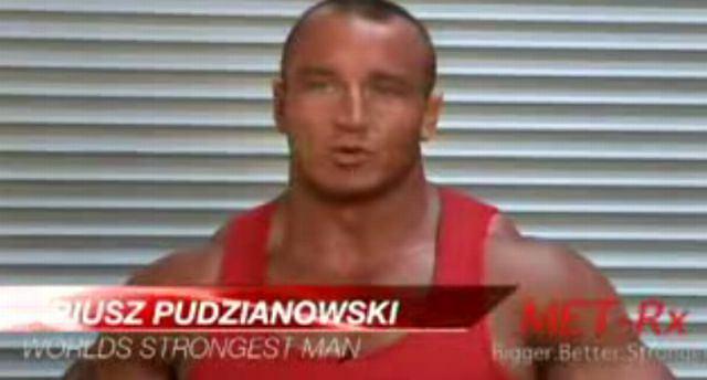 Mariusz Pudzianowski/YouTube.com
