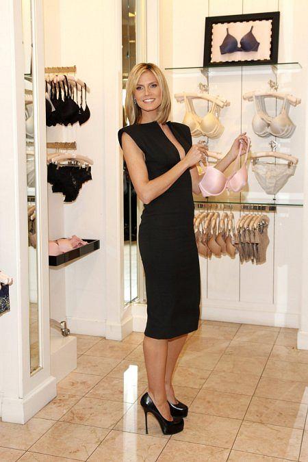 Heidi Klum promuje biustonosz The Perfect One Bra Victoria's Secret