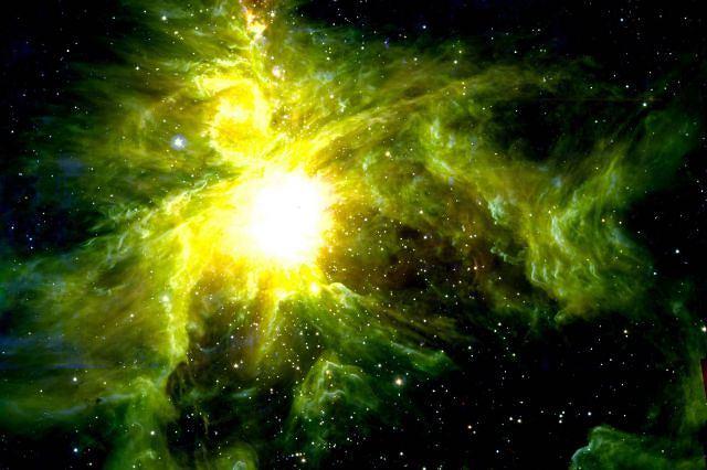 Fabryka gwiazd w konstelacji Oriona - fot. Ho Reuters