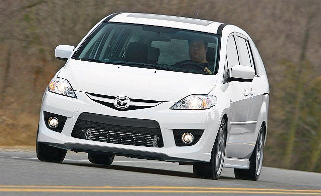 Mazda 5 - przeszczep silnika z Mazdy 3 MPS