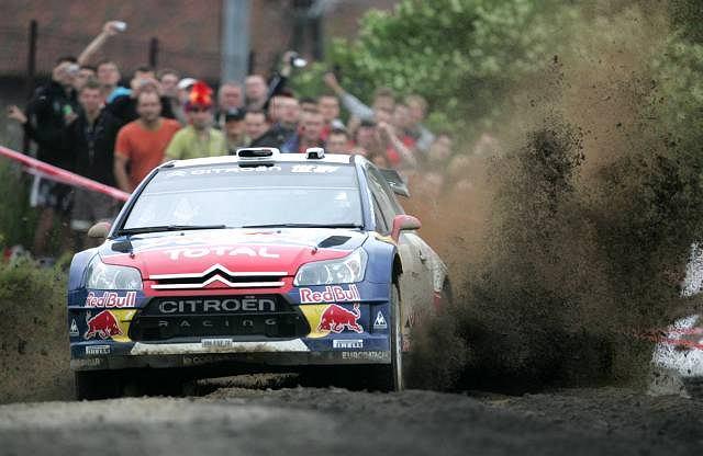 Wczoraj w Mikołajkach trasę rajdu testował Sebastian Loeb