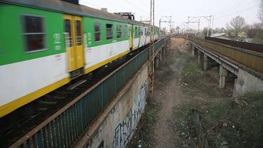 Wiadukty przy dworcu kolejowym Warszawa Wschodnia