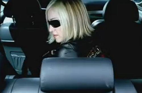Madonna wypada z BMW