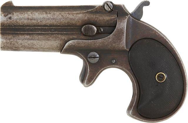Bardzo drogi pistolet fot. AP/