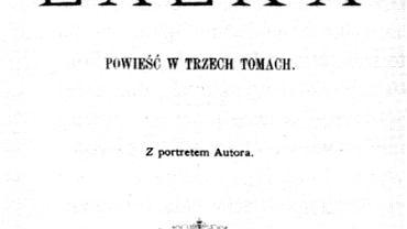 """""""Lalka"""" - strona tytułowa pierwszego wydania powieści"""