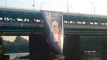 Potężny plakat z Madonną o twarzy Madonny (piosenkarki)