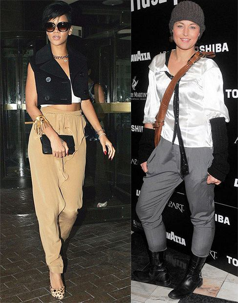 Rihanna/Beata Sadowska w pumpach