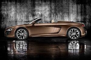 Audi R8 Spyder w akcji