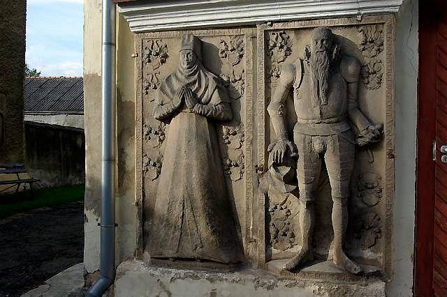 XVI-wieczne epitafium Elizabeth i Georga von Nimitz