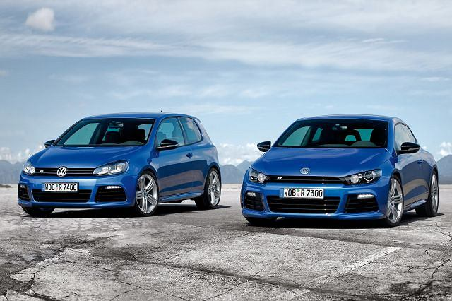 VW Golf R i VW Scirocco R