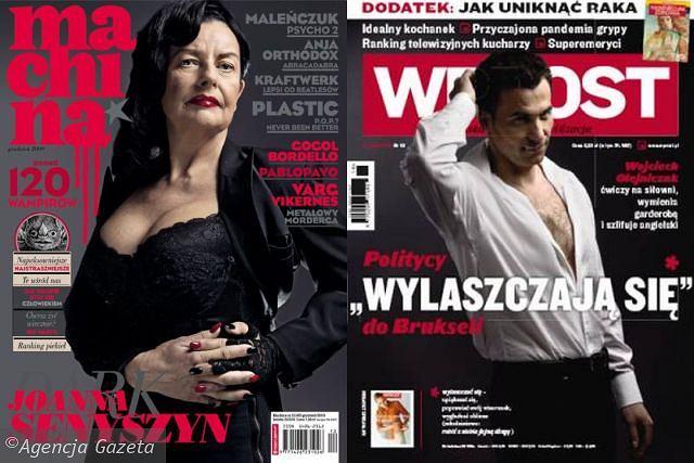 Joanna Senyszyn/MACHINA, Wojciech Olejniczak/WPROST