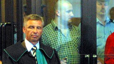 Artur Zirajewski podczas procesu w roku 2003