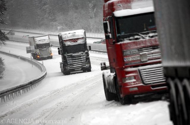 Po ataku zimy na Słowacji padł system drogowych opłat elektronicznych