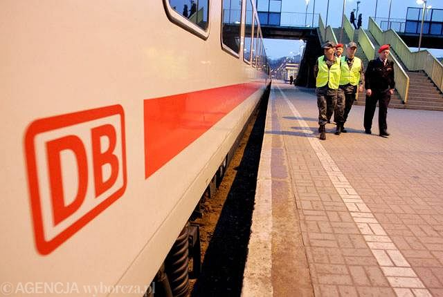 Pociąg Deutsche Bahn