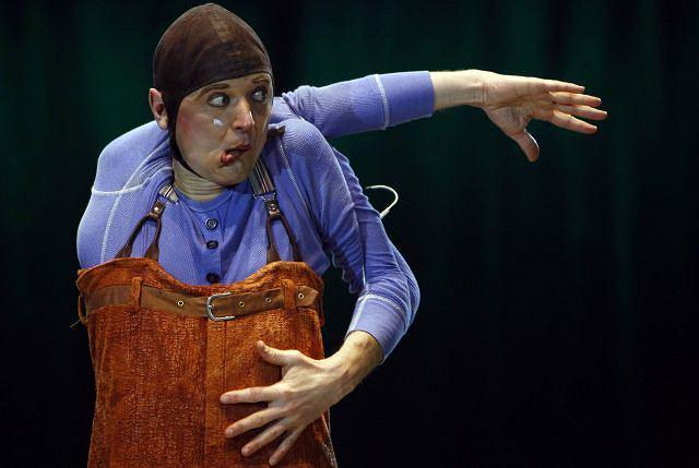Próba przed występem cyrkowym. Fot. REUTERS/LASZLO BALOGH