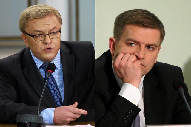 Zbigniew Chlebowski i Bartosz Arłukowicz