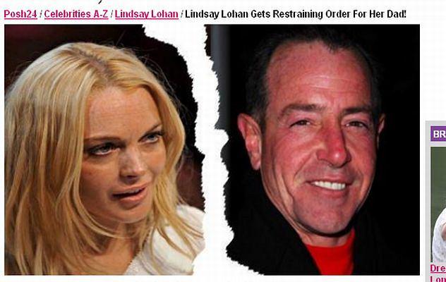 Michael i Lindsay Lohan/Posh24.com