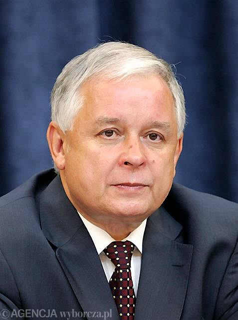 Prezydent RP Lech Kaczyński
