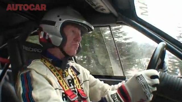Walter Röhrl - niemiecki kierowca rajdowy i wyścigowy, dwukrotny rajdowy mistrz świata