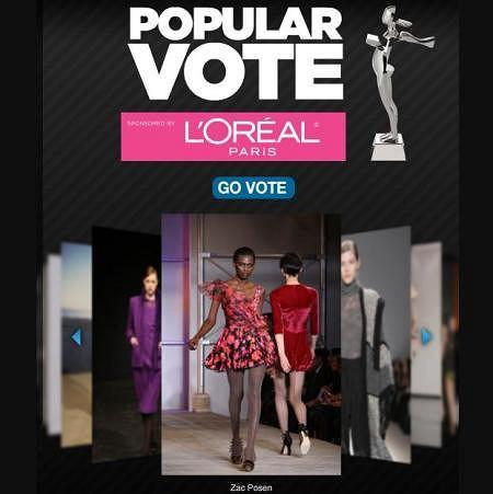 CFDA Popular Vote Awards 2010